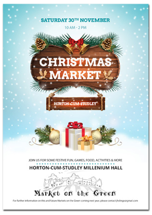 Download Horton-cum-Studley Christmas Market Flyer (pdf)
